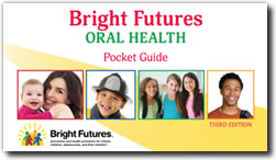 Cover for Bright Futures Oral Health Pocket Guide