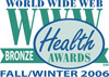 2006 WWW Health Award logo