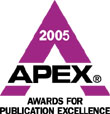 APEX Award 2005 logo