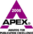 APEX Award 2006 logo