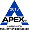 2013 APEX Award logo