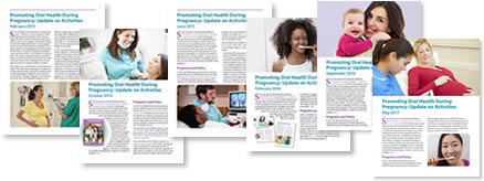 cover images of Update of Activities publications