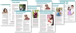 cover images for oral health handout