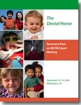 Dental Home Report Cover
