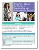 cover of Prescribing Opioids for Women of Reproductive Age