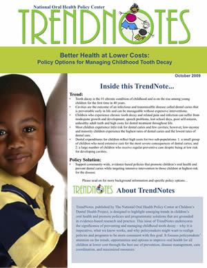 cover of Trendnotes